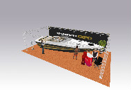 Boat show, gantry - exhibition stand
