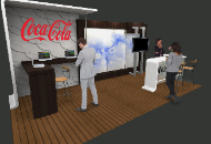 custom booth 10x20