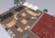 skateboard park event