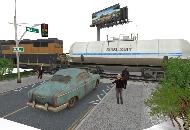Train Track scene