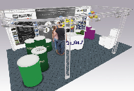 exhibition plinths, pedestals and podiums.