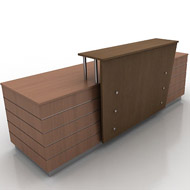 Reception counter 002