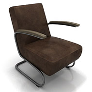 Brown Leather chair10