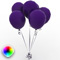 Party Balloons Single Color