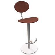 Anea Cafe Stool w Backrest