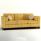 Barbara Barry Reeded Base Sofa