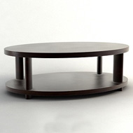 Barbara Barry Oval CoffeeTable