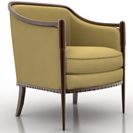 Deco Classic Lounge Chair 460