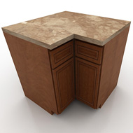 KraftMaid BaseCorner Cabinet 1