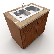 Kraftmaid Sink Base Cabinet 1