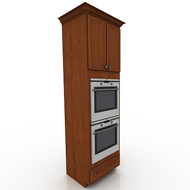 Kraftmaid Double Oven Cabinet