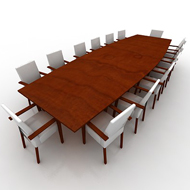 Conference Table W 14 chairs
