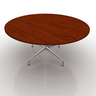 Eames Round 60in Flex Table