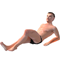 Eric Sunbathing