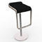 lapalma barstool black leather