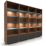 Lecco Bookshelves
