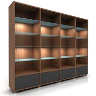 Lecco Bookshelves