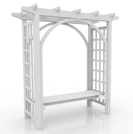 Pergola small with seat