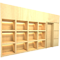 3d wall built_in bookcase 1