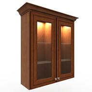 Kraftmaid GlassWall Cabinet 3