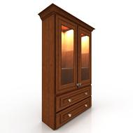 Kraftmaid GlassWall Cabinet 4
