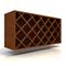 Kraftmaid Wine Rack Cabinet